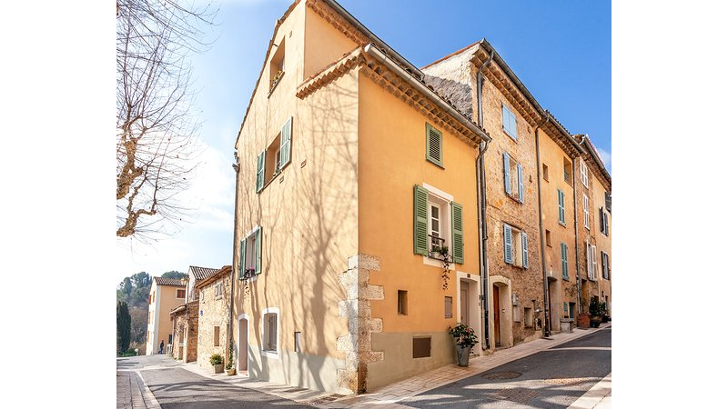 Charming village house in Valbonne with south facing roof top terrace, Ferienwohnung in Valbonne