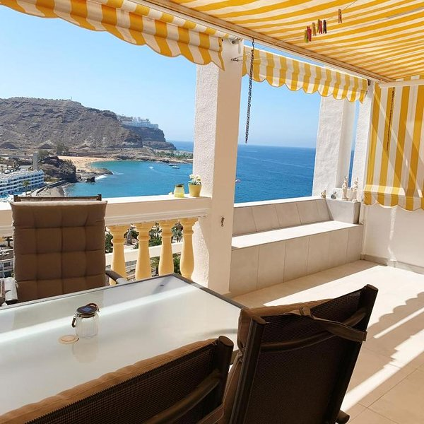 Lovely apartment with sea view in Gran Canaria, aluguéis de temporada em Playa de Cura