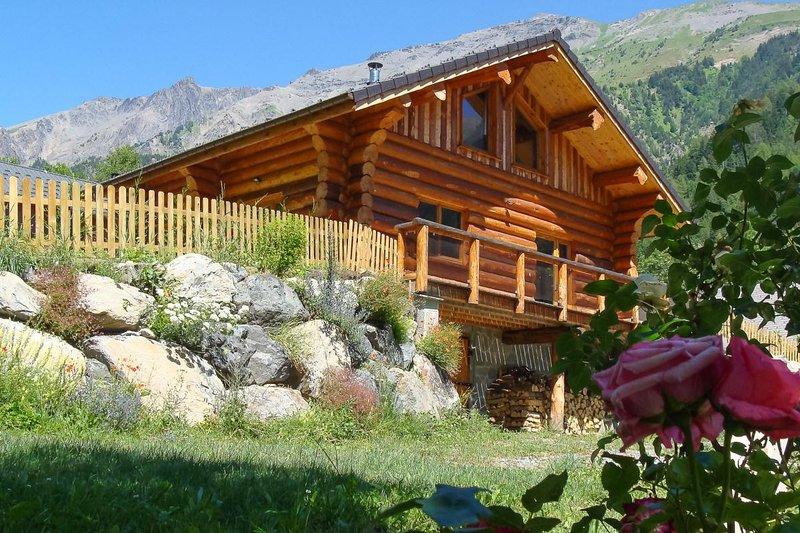 Location de chalet le Bécan, holiday rental in Valbonnais