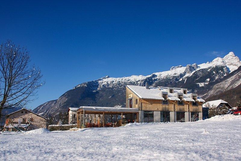Apartments JOJO Bovec, vacation rental in Sella Nevea