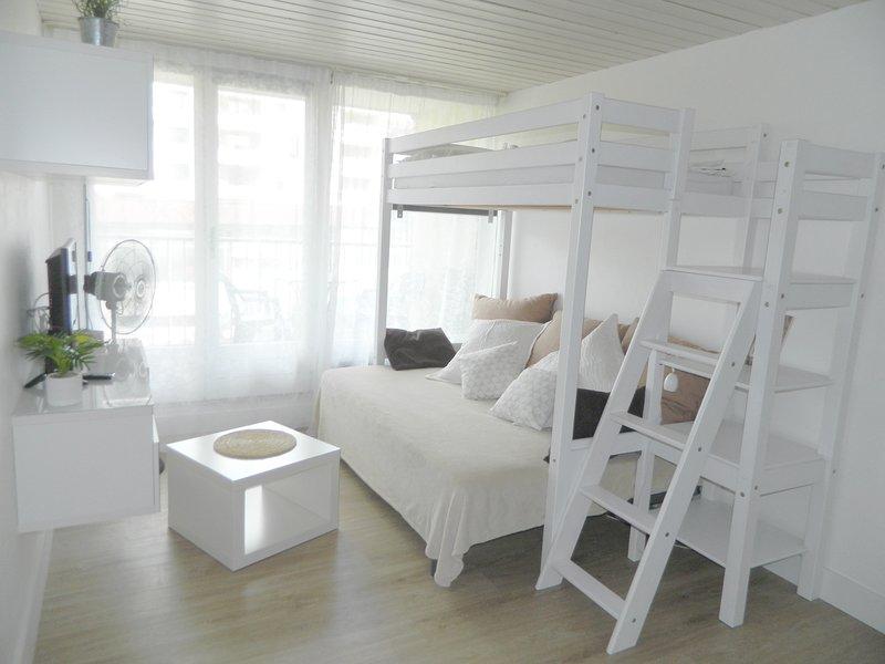studio+balcon centre ville /bord canal, holiday rental in Cran-Gevrier