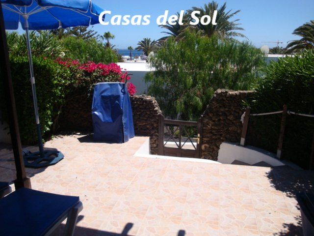 Villa on the complex of Casas del Sol (V6), vacation rental in Playa Blanca