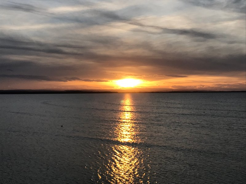 Sunset from Burghead Bay - just 5 miles from Kirktoun. Simply gorgeous!