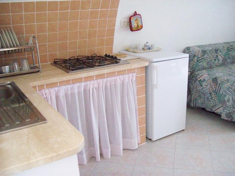 Nice studio with sea view & terrace, holiday rental in Ponza Island