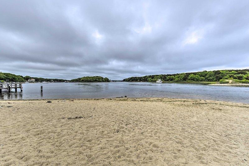 Private, Community Beach