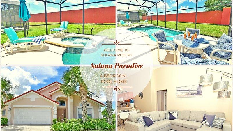 Solana Paradise Villa dá-lhe as boas-vindas!