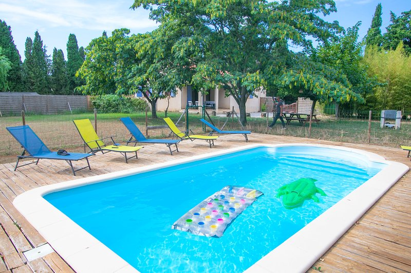 villa de plain pieds parmi les vergers, vacation rental in Millas