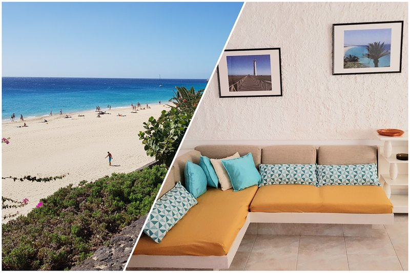 Front beach Morro Jable Fuerteventura, holiday rental in Jandia Peninsula