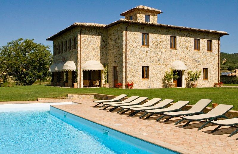 Villa Barbi, location de vacances à Civitella del Lago