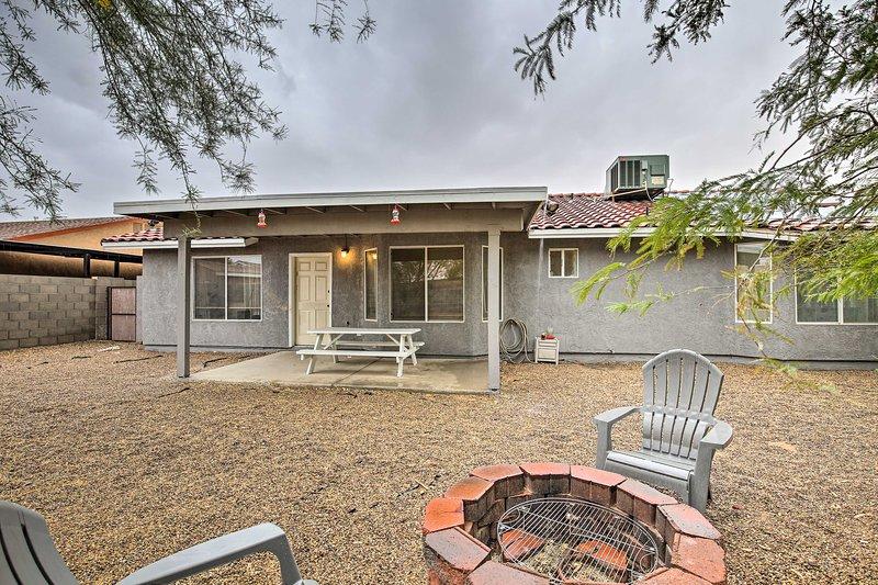 A relaxing desert retreat awaits you at this Yuma vacation rental!