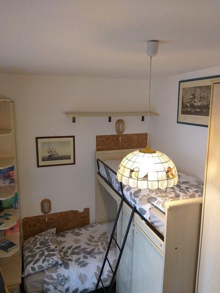 letto a castello casa ReVa monte bianco, holiday rental in Verrand