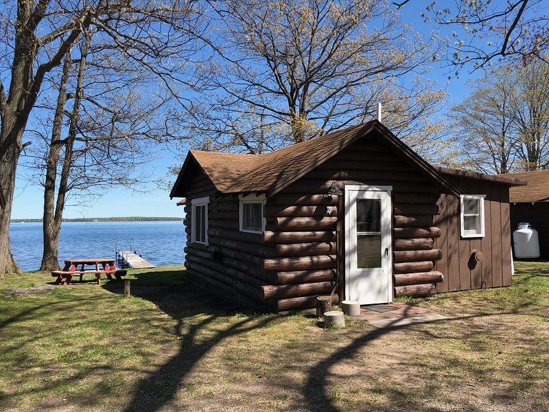 Lakeside Cabins - Cabin #4, holiday rental in Carp Lake