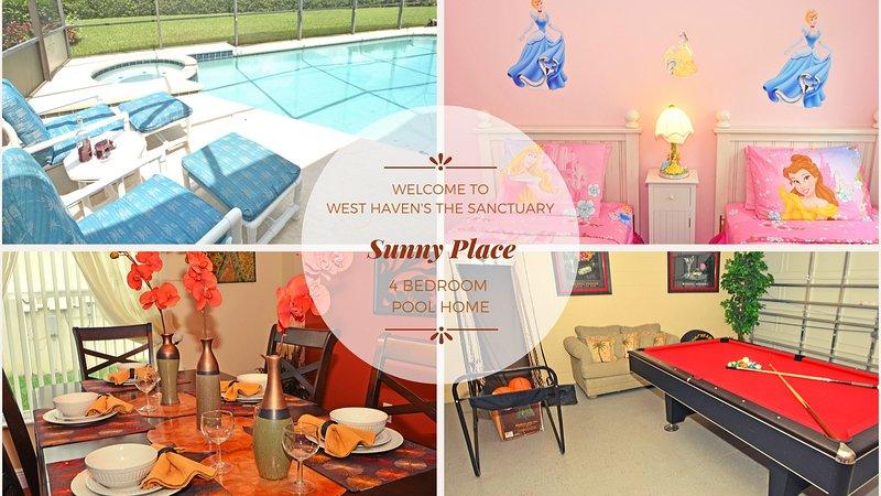 Sunny Place Villa vous souhaite la bienvenue!