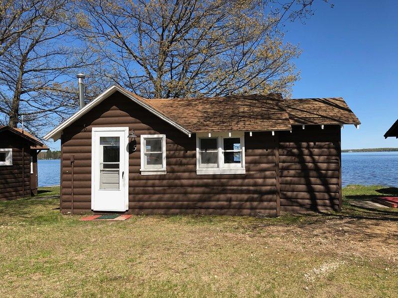 Lakeside Cabins - Cabin #5, holiday rental in Carp Lake