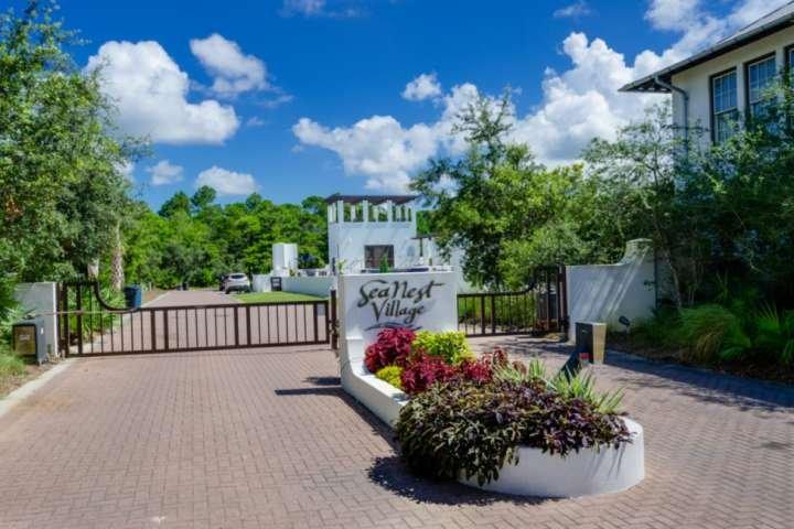 Seanest Village gated entrance!