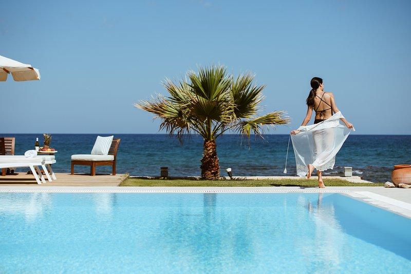 Hersonissos Beach Villa, alquiler vacacional en Chersonisos