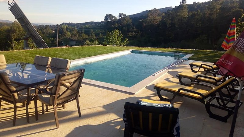 Amazing villa with swimming-pool, holiday rental in Cerva