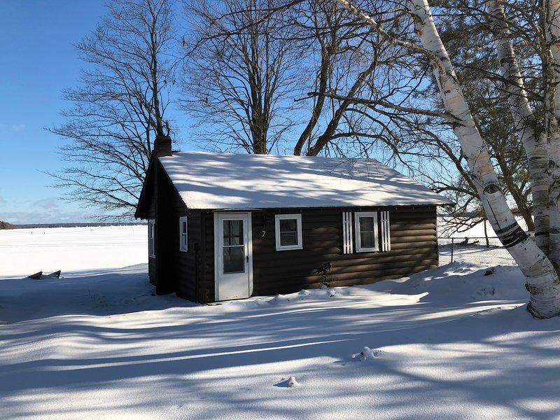 Lakeside Cabins - Cabin #7, holiday rental in Carp Lake