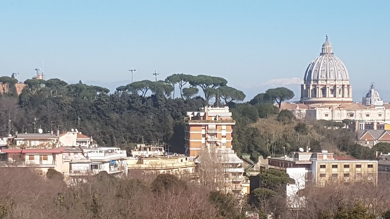 Views on Vatican State and San Peter's Dome