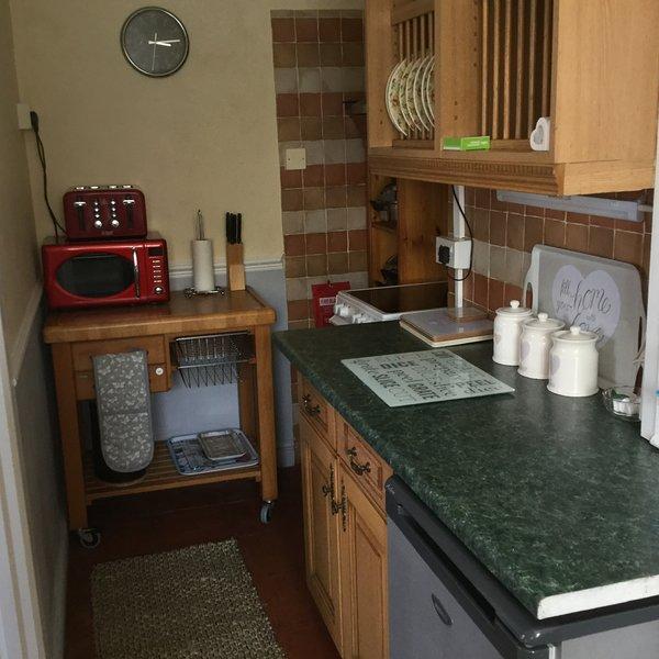 Pequeña cocina compacta