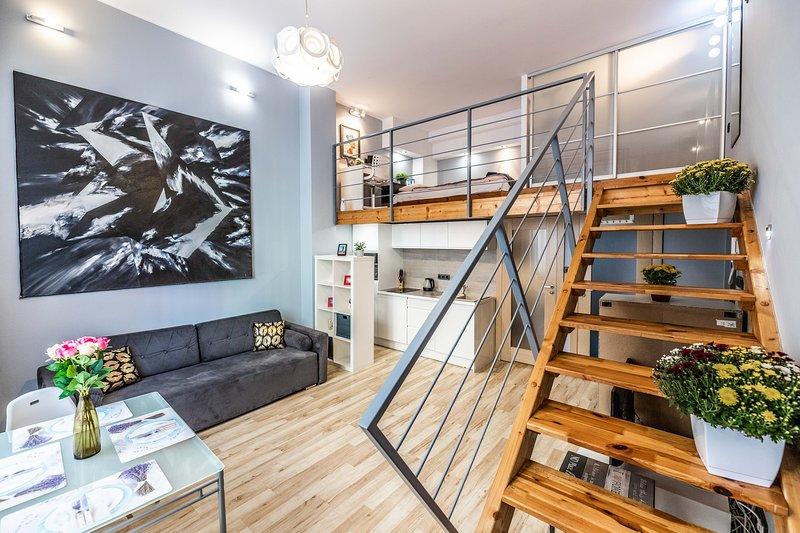 VIP Apartments: Leszczynskiego 7/1, holiday rental in Sobotka