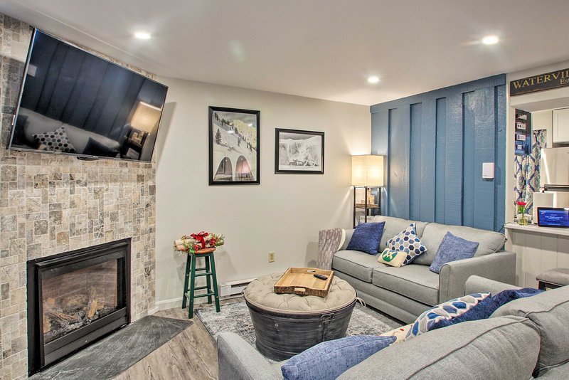 The mountains are calling you to this cozy Waterville Valley vacation rental!