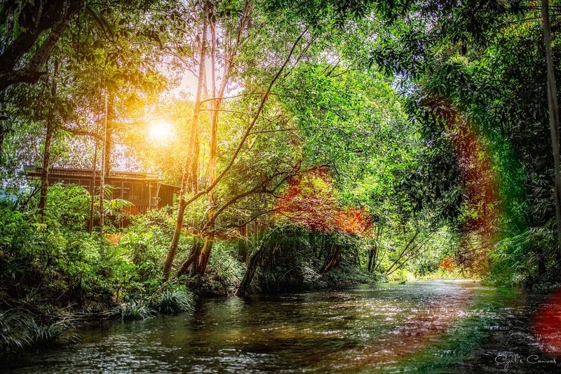 Stranded Cabin by the River - Pinggir Siak(4-6pax), holiday rental in Kuching