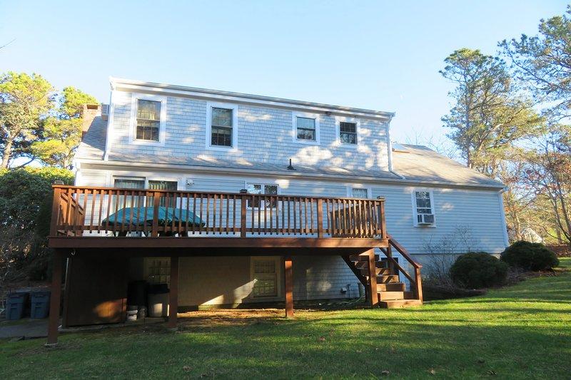 Grande cortile e ponte! 209 Indian Hill Road Chatham Cape Cod Case vacanze nel New England