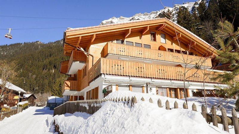 Waldbort - Grathoren, holiday rental in Lauterbrunnen