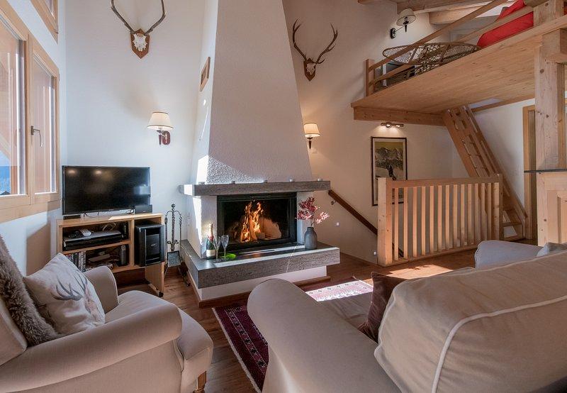 Chalet Luna Penthouse B, holiday rental in Lauterbrunnen