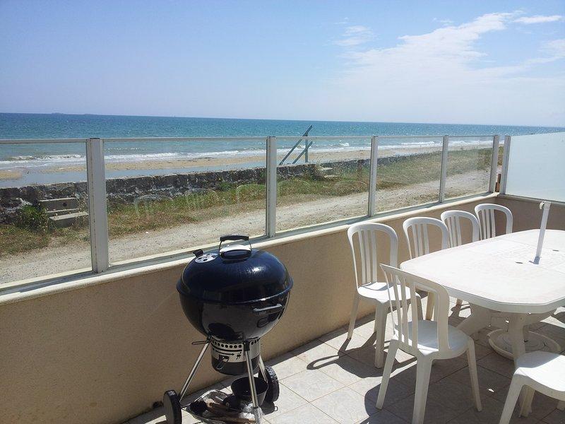 Gite font de mer 5 ch plage du Débarquement, casa vacanza a Saint-Floxel