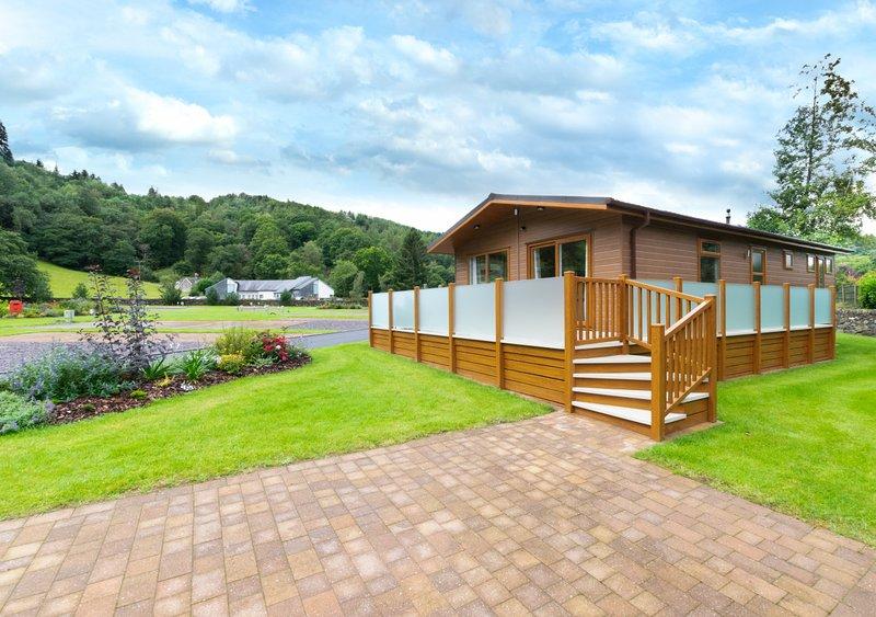 Llyn Brenig Lodge, holiday rental in Capel Curig
