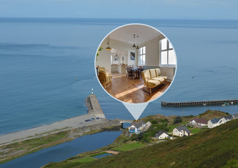 River View, holiday rental in Aberystwyth