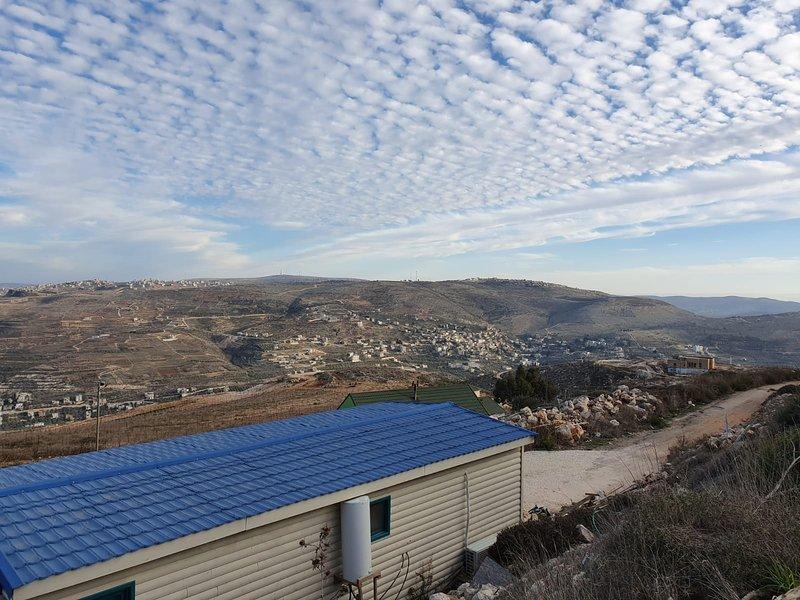 נוף הארץ צימר בוטיק - יצהר, casa vacanza a Nablus