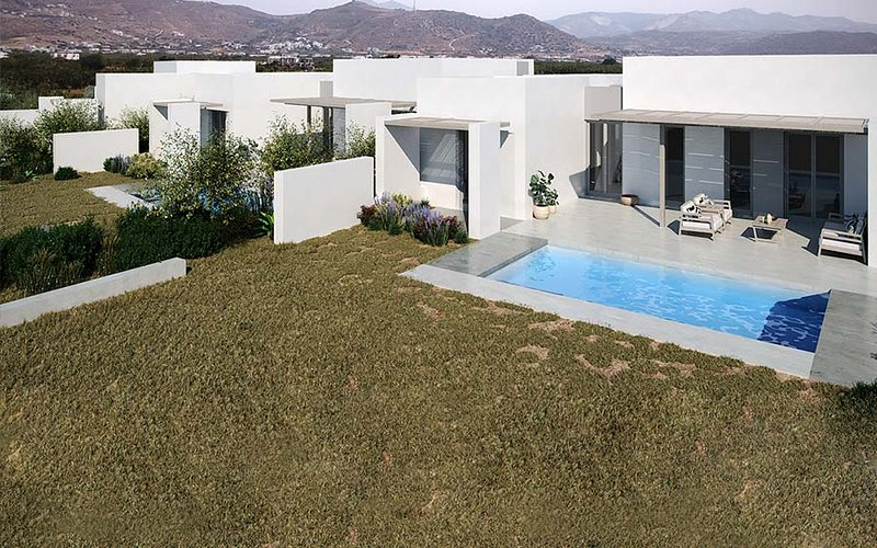 Eco Villa, Agios Georgios, Naxos, Cyclades, Greece, holiday rental in Agia Anna