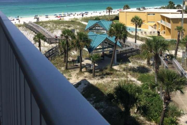 Balcony view toward Gulf of Mexico