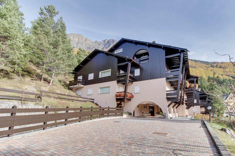 Two garden-level apartments w/ patios & mountain views - near skiing/spas!, vacation rental in Trepalle