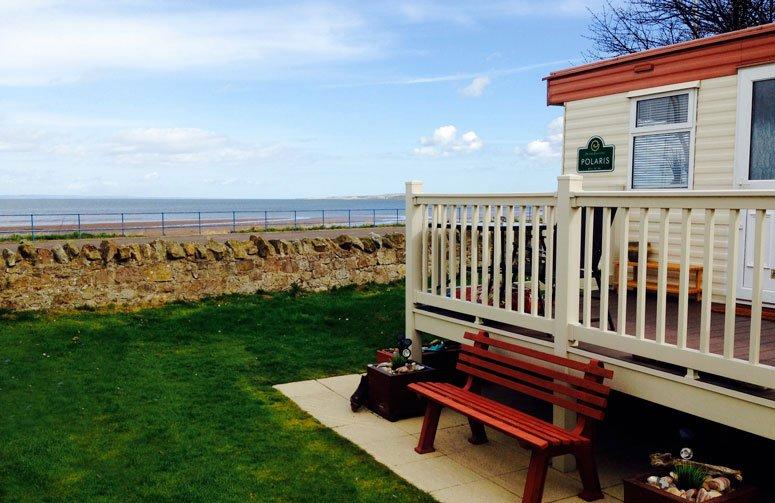 Seton Sands, Longniddry, Sea View Holiday Caravan,, vacation rental in Aberlady