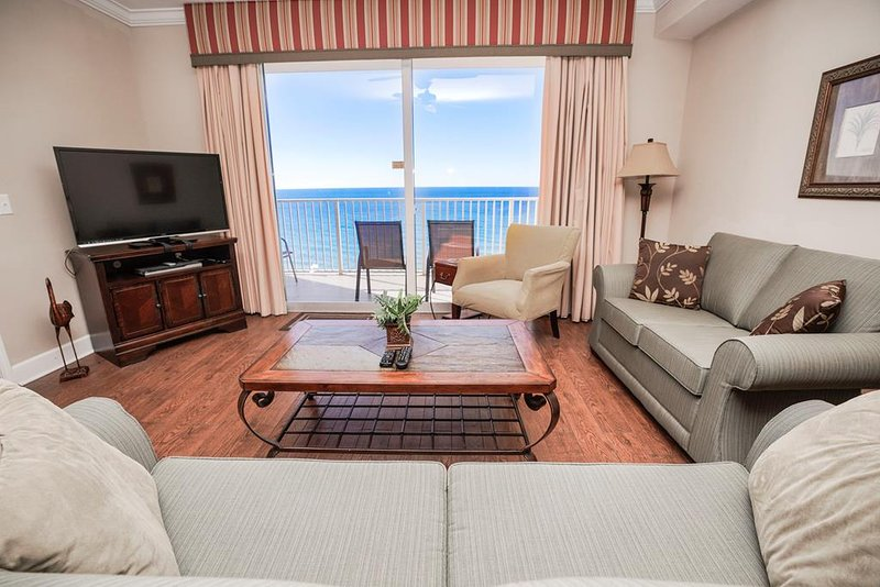 Tidewater Beach Resort Rental 1605 - Sala de estar