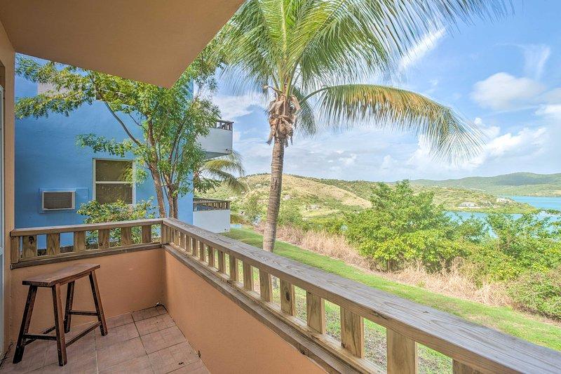 NEW! Island Apt w/ Panoramic Ensenada Honda View!, vacation rental in Culebra