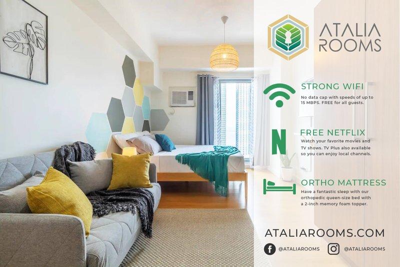 Atalia Rooms - Scandinavian Studio Overlooking Manila Bay With WIFI & Netflix, vacation rental in Manila