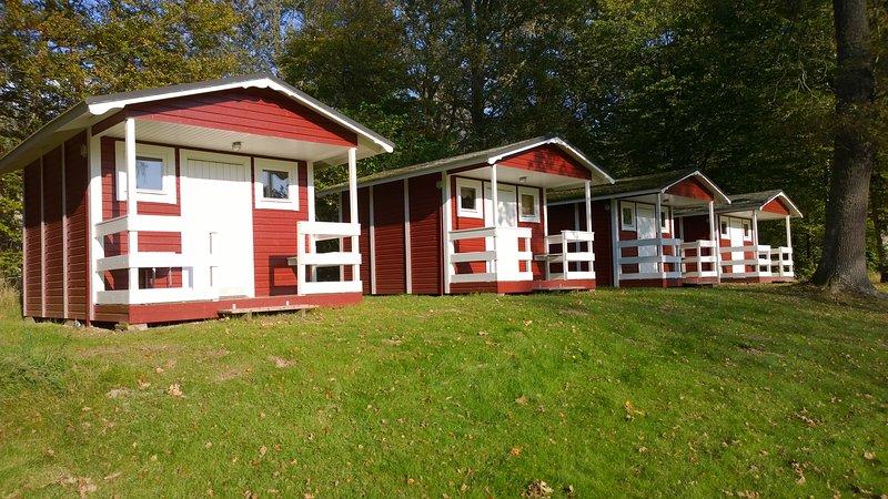C01/C04 - Liten Campingstuga (4 stugor), location de vacances à Sölvesborg