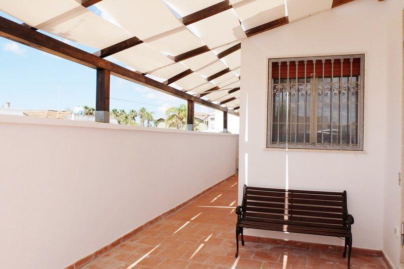 Villetta Greta | spazio esterno, parcheggio facile, casa vacanza a Villaggio Boncore