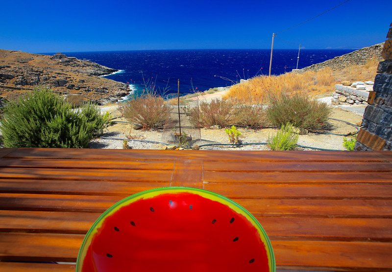 Pi (π) Beach house - Ultimate View on your OWN beach, holiday rental in Kampi