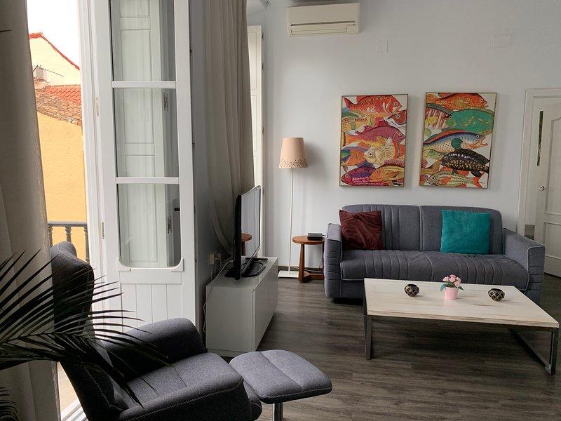 Genial y Perfecta ubicación con WIFI, ascensor max 4 personas 1D Malaga Historic, alquiler de vacaciones en Málaga