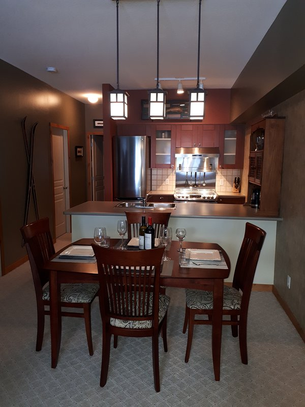 Modern Dining Room Table Can Expand to Seat 8!