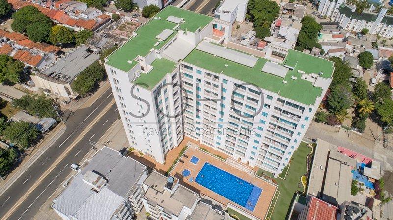 Vista aérea del Edificio