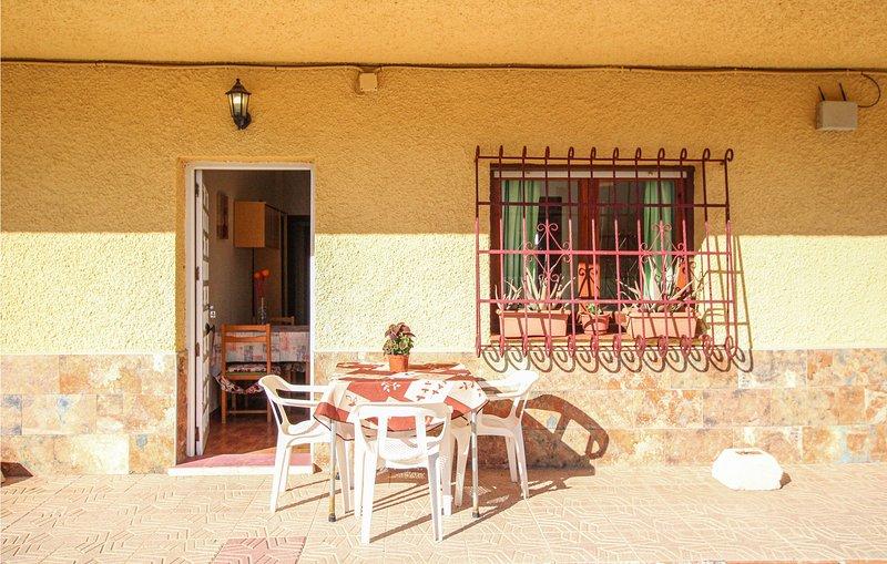 Stunning home in La Azohia with 2 Bedrooms (ECC881), holiday rental in Galifa