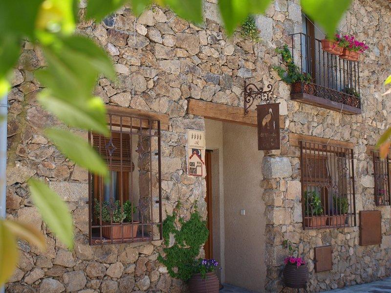 El Mirador de la Cigüeña, location de vacances à Bernuy de Porreros