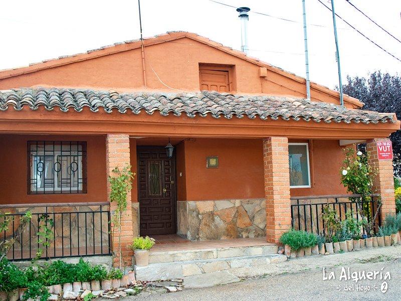 Alqueria del Hoyo ll, holiday rental in Huerta del Marquesado